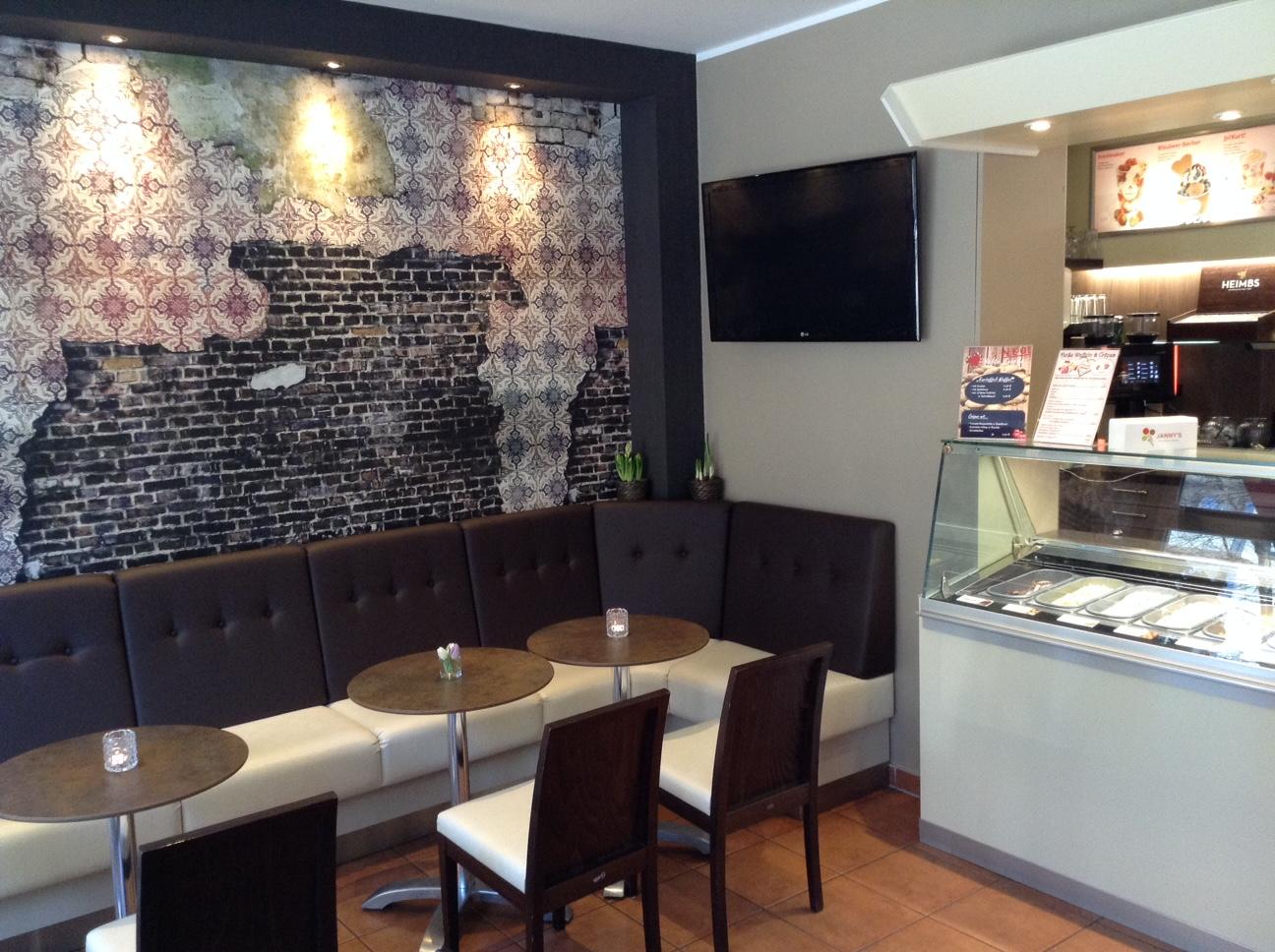 Eiscafé | Tapeten-Wandbild